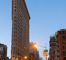 Flatiron Building by Mark Eden