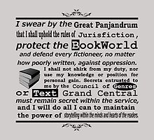 The Oath Of The BookWorld by Towerjunkie