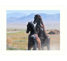 Pony Express-1 Art Print