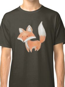 Cute Little Fox Painting Classic T-Shirt