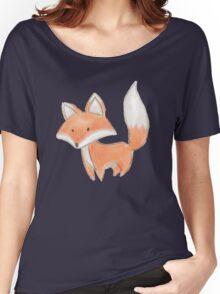 Cute Little Fox Painting Women's Relaxed Fit T-Shirt