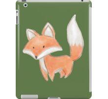 Cute Little Fox Painting iPad Case/Skin