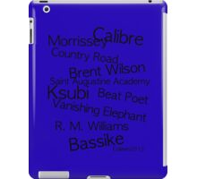 AUSTRALIA'S FINEST MEN'S FASHION DESIGNERS iPad Case/Skin