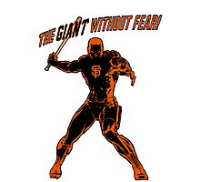 The Giant Without Fear Photographic Print