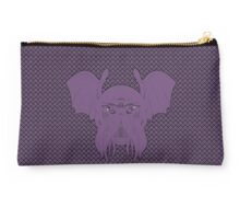 Cthulhu leech, eldritch purple version with background Studio Pouch