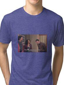 Parks and Rec, Mona Lisa and Craig Tri-blend T-Shirt