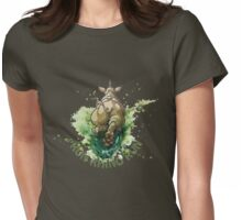 Run Rhino Run Womens Fitted T-Shirt