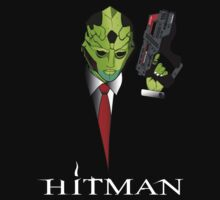 Thane Krios Hitman by icedtees