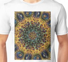 Fractal Sunflower 160620-02 Unisex T-Shirt