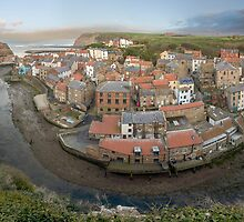 Staithes - Yorkshire Horseshoe by Trevor Shelley