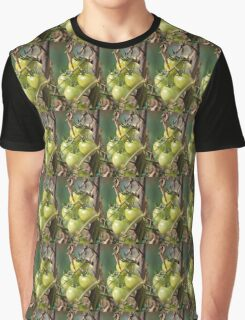 green tomatoes in garden Graphic T-Shirt