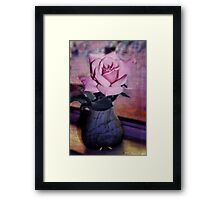 Last Rose of Summer Framed Print