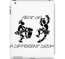 """Beat Of A Different Drum"" Artwork by Carter L. Shepard""   iPad Case/Skin"