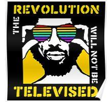 REVOLUTION WILL NOT BE TELEVISED GIL SCOTT HERON Poster