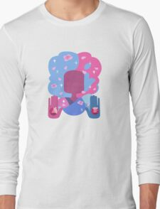 Garnet - Cotton Candy Pastel Long Sleeve T-Shirt