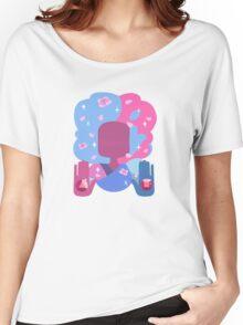 Garnet - Cotton Candy Pastel Women's Relaxed Fit T-Shirt