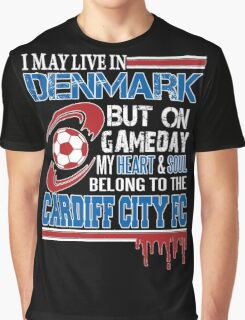 Danish - Denmark Cardiff Fc Graphic T-Shirt