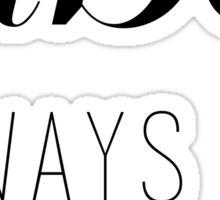 ABC Always Be Clickin' Sticker
