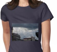 Foreboding - Storm Passing Overhead Womens Fitted T-Shirt