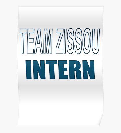 Team Zissou Intern - The Life Aquatic Poster