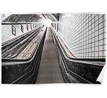 Urban Rush II - The Escalator Poster