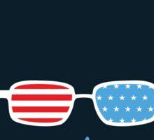 Bernie or Bust (dark blue background) Sticker