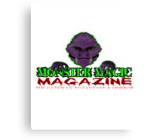Monster Magic T-Shirts & Hoodies Canvas Print