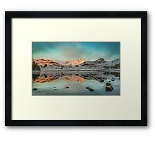 There's Gold in them there hills - Blea Tarn Framed Print