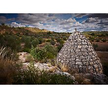 drystone shelter Photographic Print