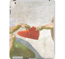 Shoes is life iPad Case/Skin