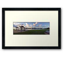 Sunrise over the Manning River - Taree Framed Print