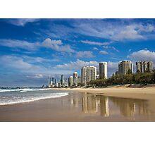Main Beach - Surfers Paradise Photographic Print