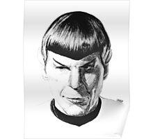 INK Spock Poster