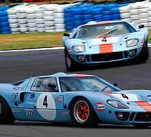 GT 40 Two Ways by TeaCee