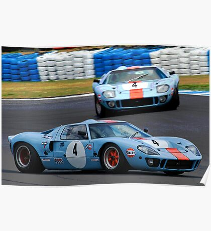 GT 40 Two Ways Poster