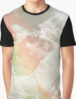 Mountains in The Sky Graphic T-Shirt
