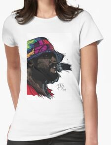 schoolboy q oxymoron album Womens Fitted T-Shirt