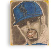 an American hip hop recording artist, record producer, entrepreneur and actor. Canvas Print