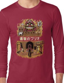 ATTACK ON WARIO Long Sleeve T-Shirt
