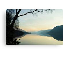 Ullswater Reflections Canvas Print