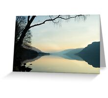 Ullswater Reflections Greeting Card