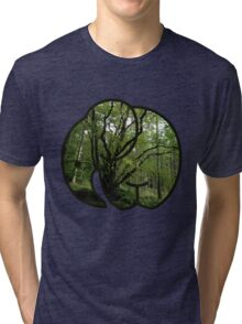 Elephant Trees Tri-blend T-Shirt