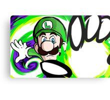 Luigi | Fireball Metal Print