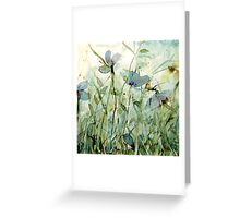 wild floral Greeting Card