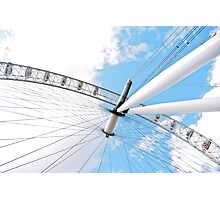 The giant wheel Photographic Print