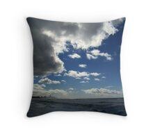 Stormclouds At Burleigh Throw Pillow