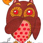 The Fu Fu Owl by haidishabrina