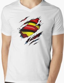 I'm Secretly Superman Mens V-Neck T-Shirt