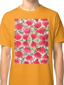 Summer Poppies Classic T-Shirt