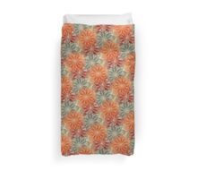 Orange Blossoms Duvet Cover